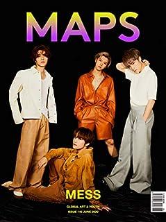韓国雑誌 MAPS(マップス) 2020年 6月号 (WayV表紙 B TYPE/VICTONのハン・スンウ記事) ★★Kstargate限定★★...