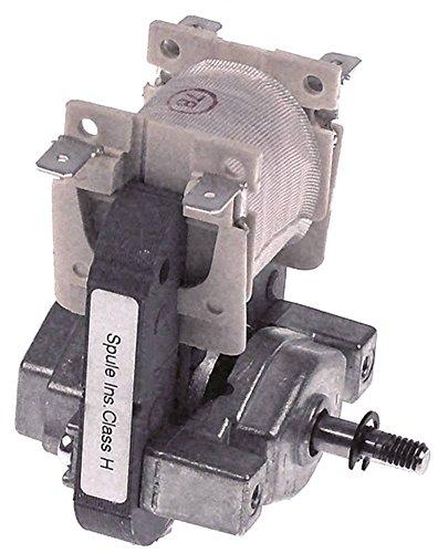 ebm-papst EM3010L-19 Lüftermotor für Tellerwärmer Rieber REU-2, RRV-U1, RRV-U2, WE-U 120/240V 8W 10mm Tiefe 60mm