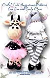 Crochet Cute Amigurumi Patterns Cow Sue and Santa Claus: A Fabulous Crochet Patterns with More than 75 Color Step-by-Step Photos (Crochet Dolls with Wire ... Photos Book 3) (English Edition)