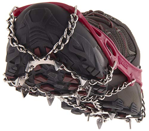 Kahtoola MICROspikes Footwear Traction Red Large