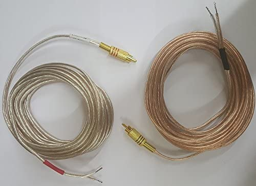 Pair of Gold Plated Metal RCA to Op Phono Special price for a limited time Manufacturer OFFicial shop Connectors Red Black