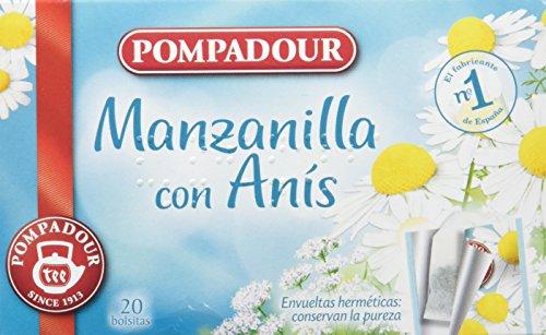 Pompadour Manzanilla Con Anís - 25 Bolsitas