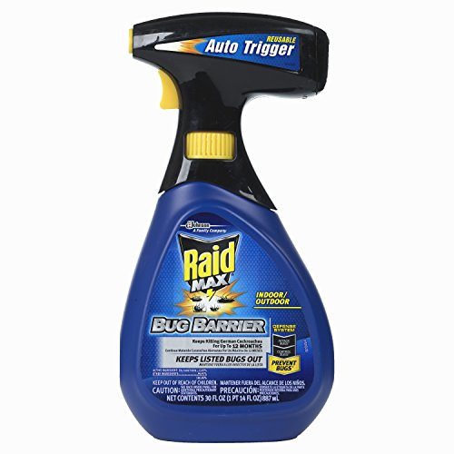 Raid Max Bug Barrier Trigger Starter Kit, 30 OZ (Pack - 2)