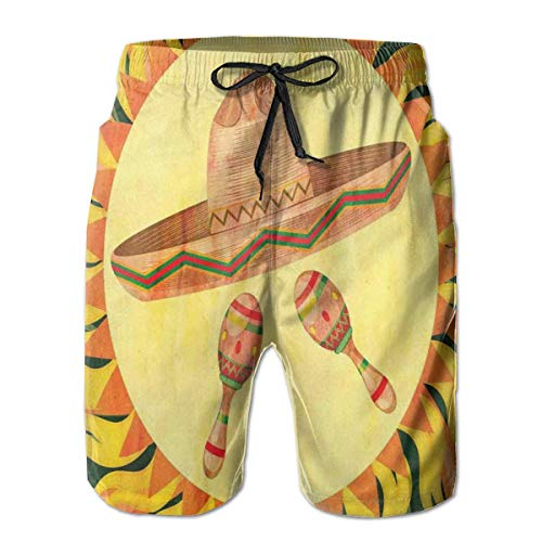 Desconocido Hombres Traje de baño Shorts de Playa Cuento de Hadas Sirena...
