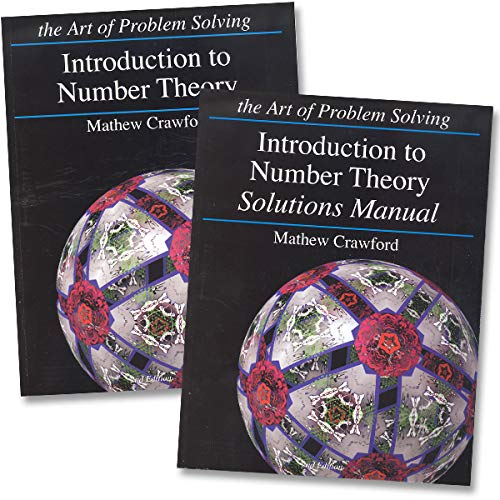 Art of Problem Solving: Introduction to Number Theory Books Set (2 Books) - Introduction to Number...