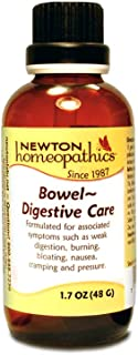 Newton Homeopathics Bowel Digestive Care Liquid Homeopathic Remedy 1.7 fl. oz. Bottle, 50mL