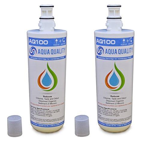 Lot de 2 filtres à eau de qualité aqua compatibles avec les modèles F701R, compatibles avec les têtes A1 ou A3, contrairement à d'autres compatibles