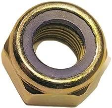 Serval Products M14 x 1.5 Nylon Insert Lock Nut Din 985 Fine Thread Zinc Plated (10-Pack)
