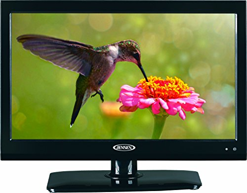 Fantastic Deal! Jensen JTV1917DVDC 19 Inch RV LCD LED TV with Build-In DVD Player, High Performance...
