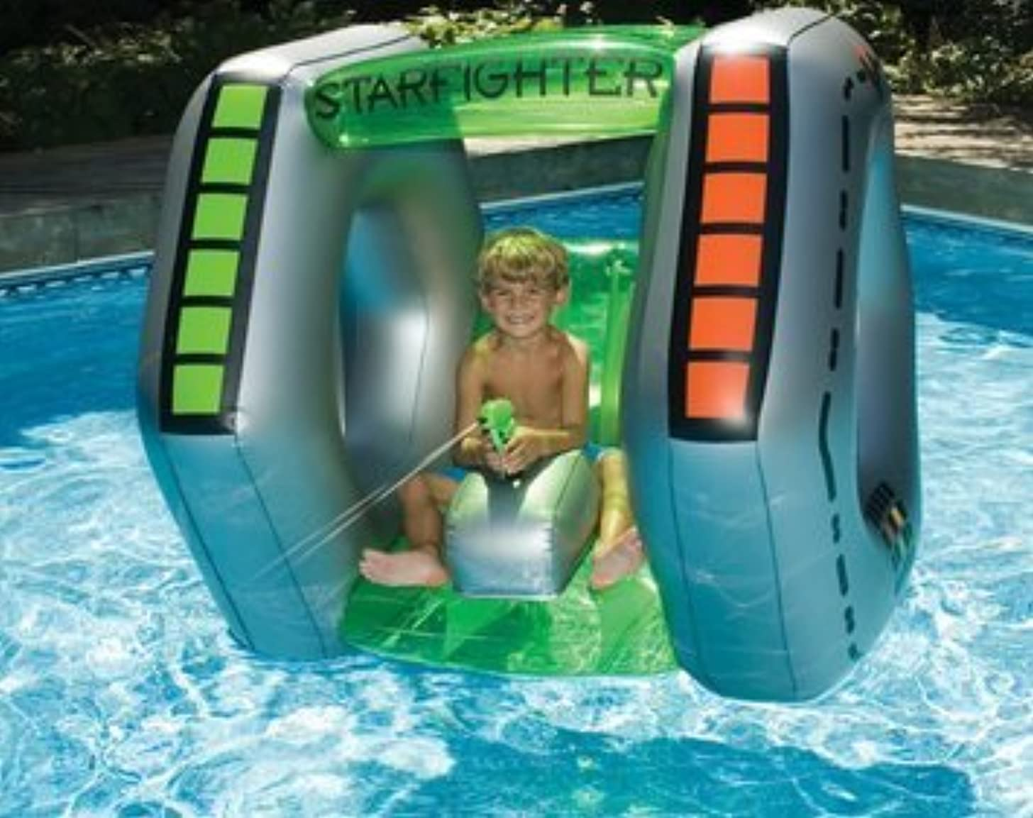 Star fighter Water Toy Float for Swimming Pool & Beach