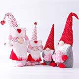 2 gnomos de conejo de Pascua, gnomos de primavera, gnomos de Pascua, decoración del hogar, gnomo de peluche, regalo de conejo hecho a mano, regalos de Pascua para adultos y niños (par grande)