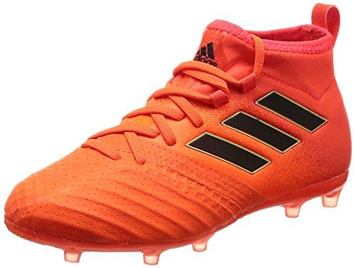 adidas Damen ACE 17.1 FG JR S77038 Fußballschuhe, Mehrfarbig (Solar Red/Core Black/Solar Red), 38 2/3 EU