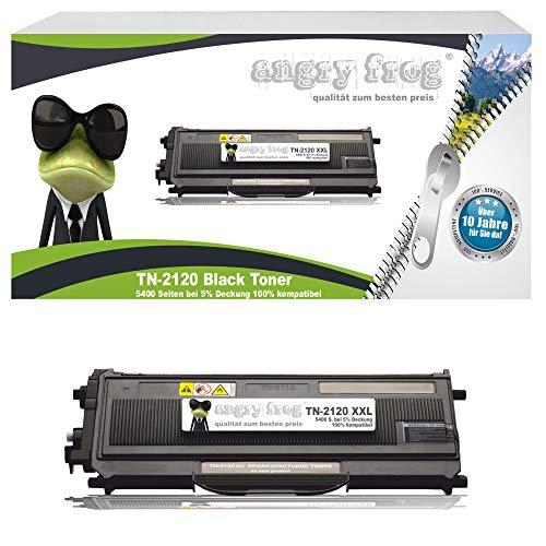 Black Toner, 5400 Seiten!!! ersetzt TN-2120 mit XXL Füllung