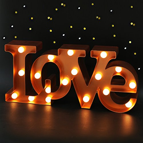 LED LOVE Marquee Sign