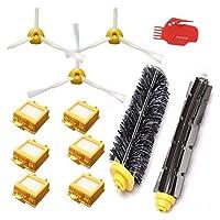 取り替え剛毛ビーターブラシHEPAフィルターキットフィットIROBOT ROOMBA 700シリーズ760 770 780 790掃除機部品アクセサリー(カラー:HXL6063) 掃除機部品 (色 : Hxl002)