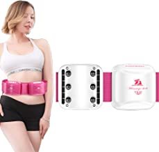 CSFM Body Shake Belt Lose Weight Shake Belt Fitness Device Manage Back Pain Fat Burning Heating Vibration Massage for Weight Loss Detox White Estimated Price : £ 49,47