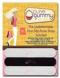 Purse Gummy Stop Strap Slips - Non Slip Grip Strip Pad for Handbag Straps - Shoulder Bag, Tote Bag, Diaper Bag Cushion Accessory - Set of 6 Pieces