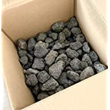 溶岩石 砂利 20-50㎜ 2キロ 黒 水槽 レイアウト テラリウム 石 飾り 花壇 ガーデン アクアリウム 水質改善