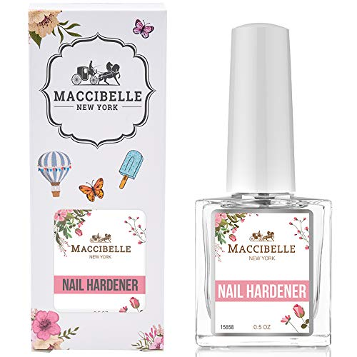 Maccibelle Nail Hardener-Nail Strengthener Repair Weak Damaged Nails