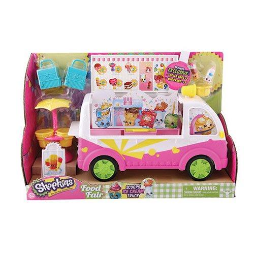 Shopkins Playset Scoops Ice Cream Truck Camioncino dei Gelati