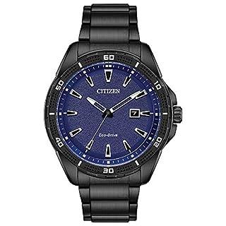 Citizen Men's AW1585-55L Ar (Action Required) Japanese-Quartz Blue Watch (B07DPW224D)   Amazon price tracker / tracking, Amazon price history charts, Amazon price watches, Amazon price drop alerts