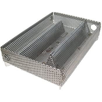 A-MAZE-N AMNPS Maze Pellet Smoker, Hot or Cold Smoking, 5 x 8 Inch