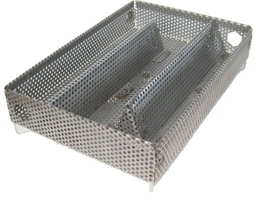 A-MAZE-N Maze Pellet Smoker, Hot or Cold Smoking, 5 x 8 Inch