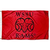 College Flags & Banners Co. Winston Salem State Rams Flag