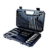Black+Decker A7219-XJ Kit de 80 piezas para taladrar y atornillar