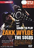 Lick Library - Learn to Play Zakk Wylde - The Solos (+ Audio-CD) [Reino Unido] [DVD]