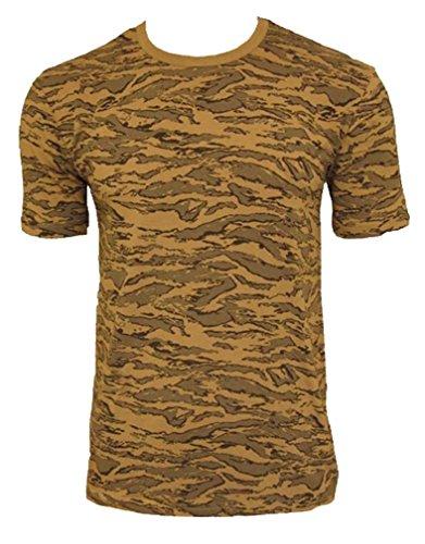 Tee Shirt Camo Camouflage Armee DE L'AIR AIR Force Desert COL Rond ET Manches Courtes Miltec 11010067-M Airsoft