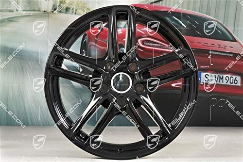 NEU+ORIG. Porsche Panamera G1/970 TURBO Felge/wheel rim 9J 19 ET60 Schwarz