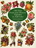 Old-Time Fruits and Flowers Vignettes in Full Color (Dover P
