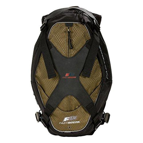 UNTAMED Fastbreak Aerial M Parkour and Freerunning Sport Backpack, 42cm x 27cm x 10cm - Olive