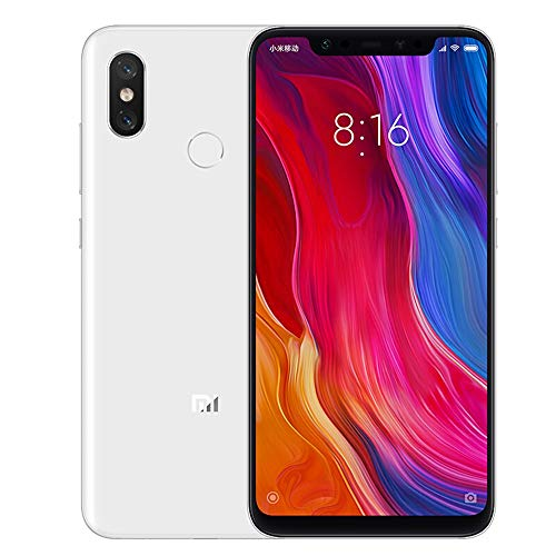 Xiaomi Mi 8, 6-64GB, Unlocked, Global Version (White)