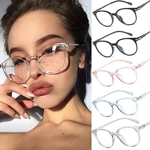 Gracorgzjs Brillengestell , Unisex-Schutzbrillen Schutzglas Brillengestell Transparentes Rosa