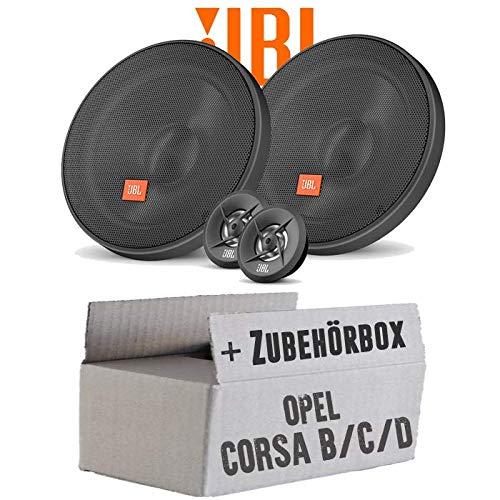 Lautsprecher Boxen JBL 16cm System Auto Einbausatz - Einbauset für Opel Corsa B/C/D - JUST SOUND best choice for caraudio