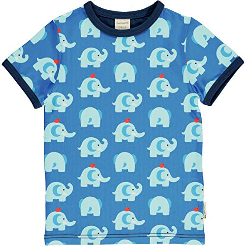 Maxomorra T-Shirt Kurz Elephant Friends 74/80
