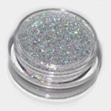 Silver Laser Eye Shadow Loose Glitter Dust Body Face Nail