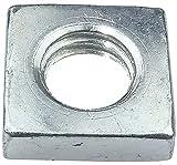 AERZETIX - Juego de 100 tuercas cuadradas M8 planas perfil bajo 13.0x4.0mm rosca métrica hembra - en acero al carbono - DIN 562 - C49559
