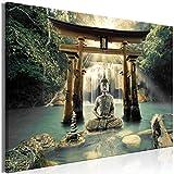 murando Cuadro en Lienzo Buda 90x60 cm 1 Parte Impresión en Material Tejido no Tejido Impresión Artí...