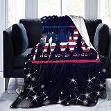 July NWO Impreso Digital Ultra-Soft Micro Fleece Blanket Soft Warm