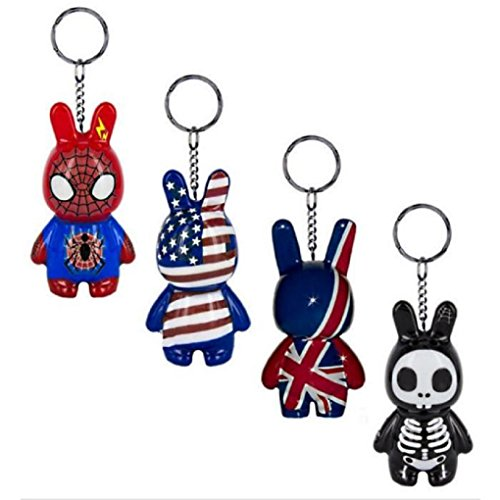 1 PORTE CLES LAPIN MANGA 8 CM CRAZY ART FACTORY MODE