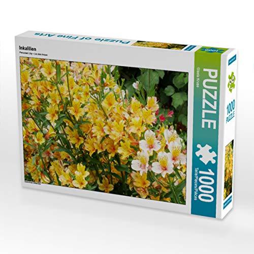 CALVENDO Puzzle Inkalilien 1000 Teile Lege-Größe 64 x 48 cm Foto-Puzzle Bild von Gisela Kruse