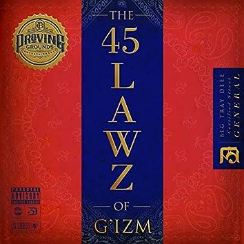The 45 Lawz of G'izm