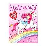 Depesche 8979 Stickerworld, Princess Mimi - Libro de pegatinas con 100 pegatinas con purpurina