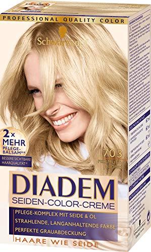 Schwarzkopf Diadem Seiden Color Creme Haarfarbe Perlmuttblond 703
