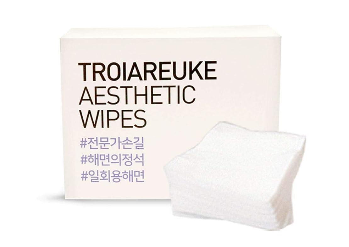 メディックブレス数値TROIAREUKE (トロイアルケ) エステティック 海綿 コットン/Aesthetic Wipes (100枚)