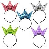 BESTOYARD Geburtstagsfeier Halloween Crown Flashing Stirnband Leucht Haarband für...