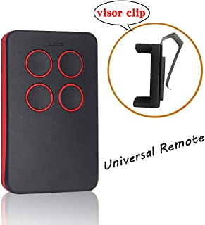 Universal Garage Door Opener Remote with Intellicode Security Technology,Control Up to 4 Garage Door Remote-Compatible with Genie Garage Door Openers(Red)